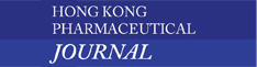 HONG KONG PHARMACEUTICAL JOURNAL